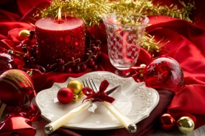 xmas table-tavola natalizia